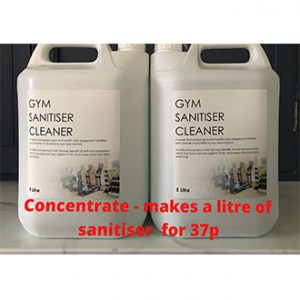 Concentrated gym sanitiser cleaner for sale