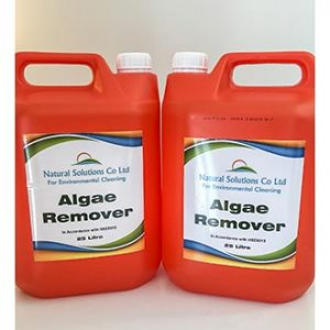 Algae Remover natural and biodegradable