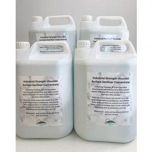 Industrial Strength Virucidal Surface Sanitiser Concentrate